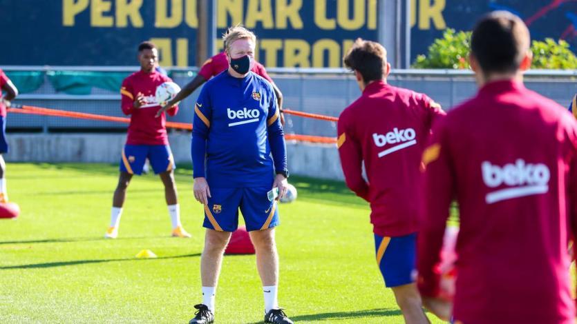 Ronald Koeman negó una mala relación con Lionel Messi:
