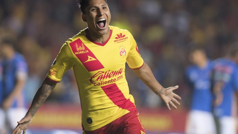 Raúl Ruidíaz vuelve al gol con el Morelia
