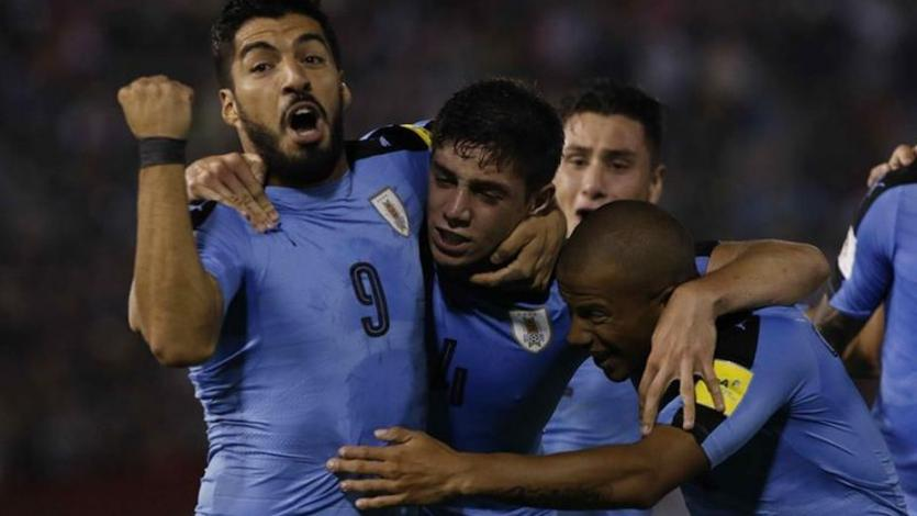 Rusia 2018: Uruguay convoca a 26 jugadores con Cavani y Luis Suárez