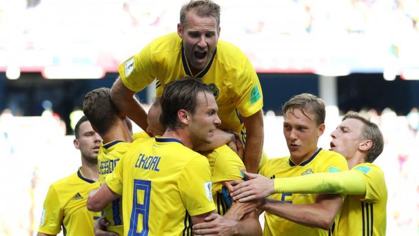 Rusia 2018: Suecia sufre para ganar a Corea del Sur (1-0)