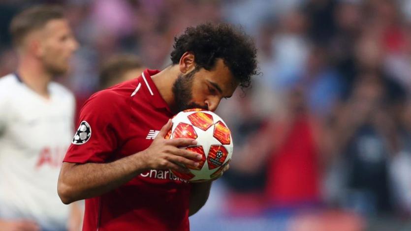 Champions League: Salah se convirtió en el quinto africano en anotar en una final