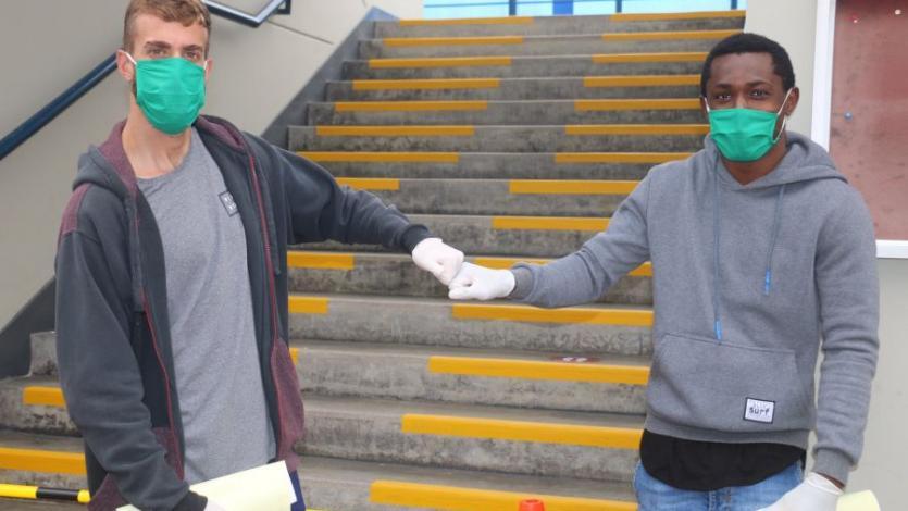 Liga1 Movistar: San Martín realizó las pruebas moleculares en su sede (VIDEO)