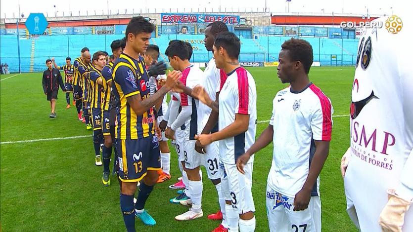Sport Rosario venció 1-0 a la Universidad San Martín
