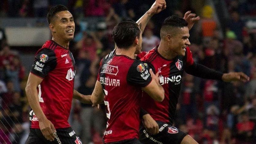 Anderson Santamaría no puedo evitar la derrota de Atlas en la Copa MX