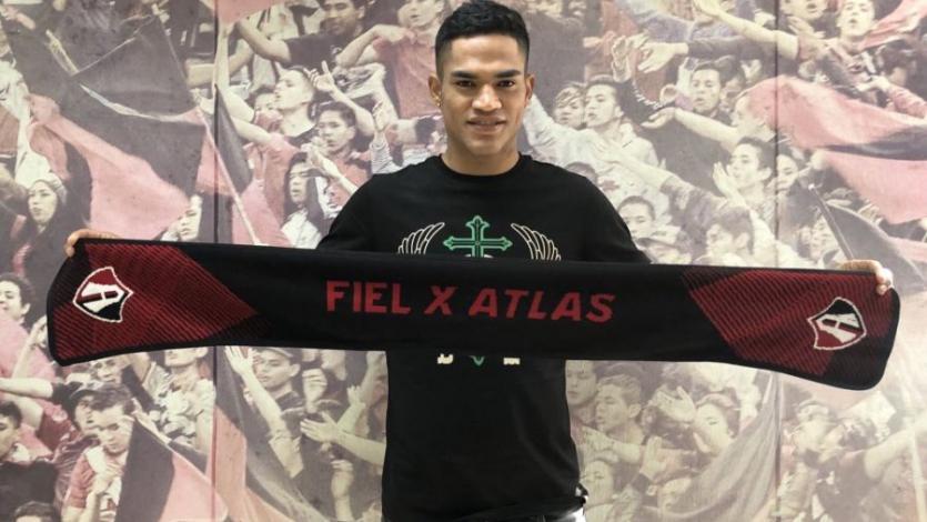 Anderson Santamaría recibió su primer llamado oficial con el Atlas