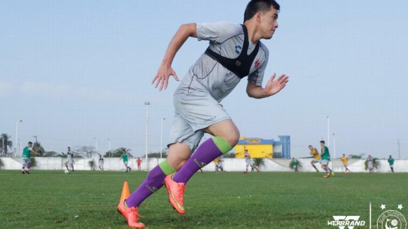 Iván Santillán se incorporó a los entrenamientos de Veracruz