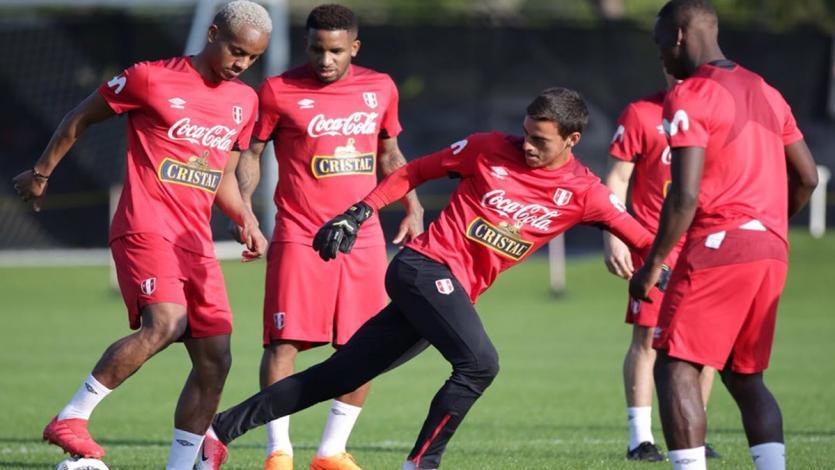 Selección Peruana realiza su primer entrenamiento en Miami