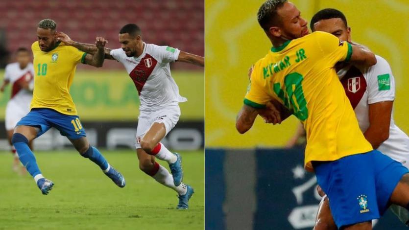 VAR aseguró que Neymar no golpeó a Alexander Callens en la cara (AUDIO)