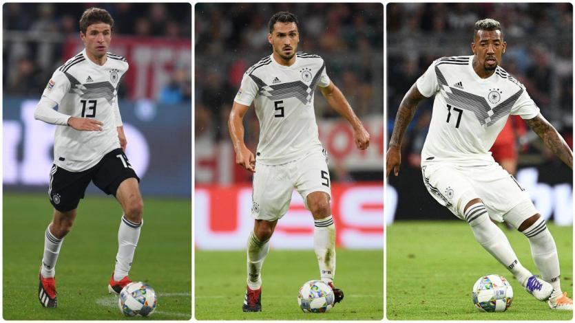 Selección Alemana: Low prescinde de Hummels, Boateng y Muller