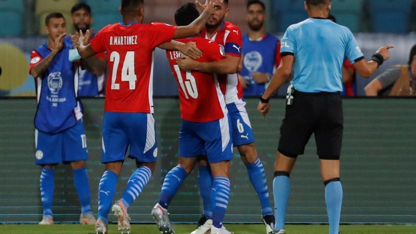Perú vs Paraguay: así fue el gol de Junior Alonso para igualar el encuentro (VIDEO)