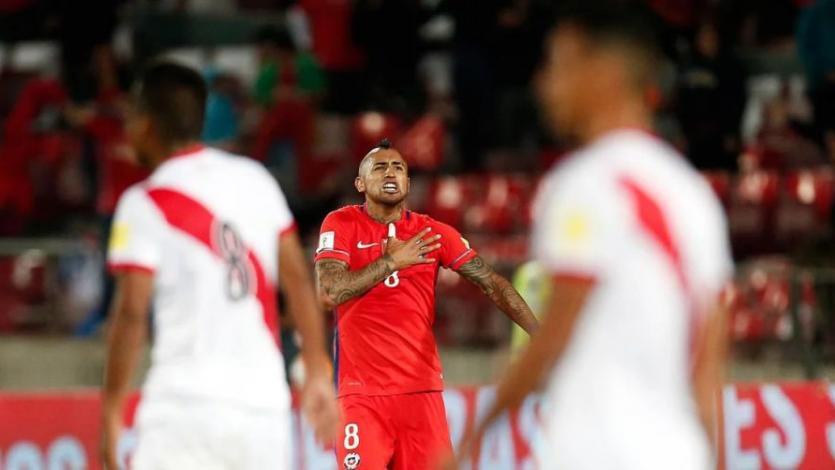 Arturo Vidal: '''Perú viene creciendo, pero no hay rivalidad''