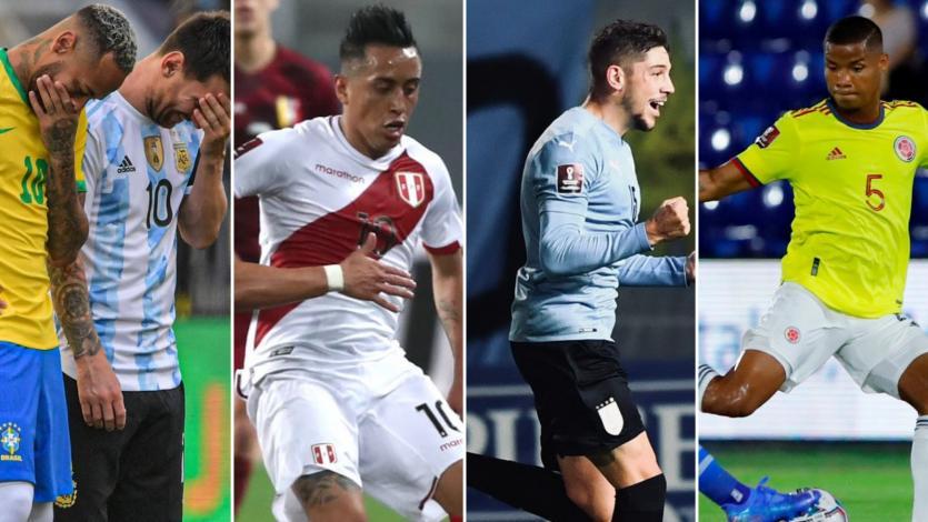 Eliminatorias Sudamericanas: así quedó la tabla de posiciones tras jugarse la sexta fecha