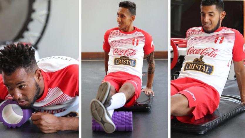 Selección Peruana y su tercer día de entrenamiento