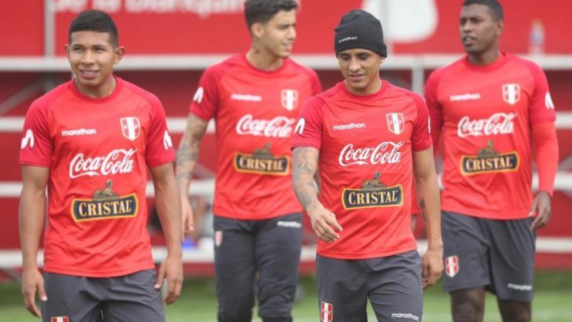 Selección Peruana: Ricardo Gareca dirigió la práctica con 5 futbolistas del extranjero