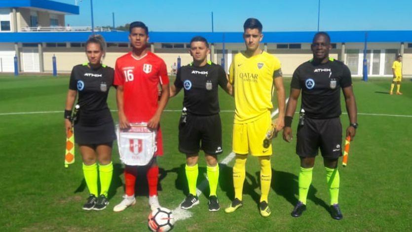 Selección Peruana: La Sub-20 se midió con las Reservas de River Plate y Boca