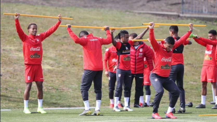 Selección Peruana: El grupo entrenó por primera vez en Washington