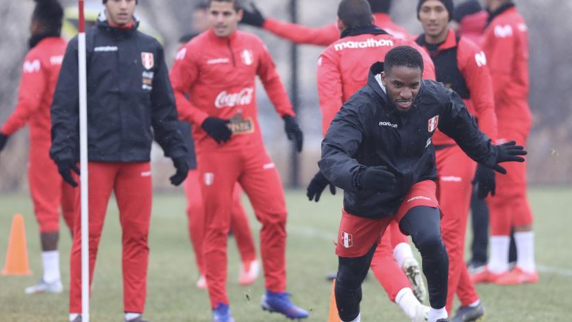 Selección Peruana: Imágenes del último entrenamiento previo al amistoso con Paraguay