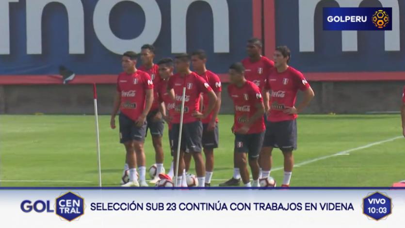 Selección Peruana: Penúltimo día del tercer microciclo