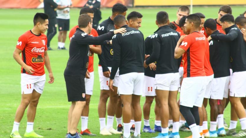 Selección Peruana Sub-23 afina detalles para amistoso contra la Academia Cantolao (FOTOS)