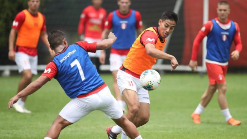 Selección Peruana Sub-23 inició entrenamientos pensando en los amistosos contra Bolivia (FOTOS)
