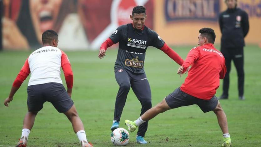 Selección Peruana continúa con los entrenamientos pensando en Ecuador y Brasil (FOTOS)
