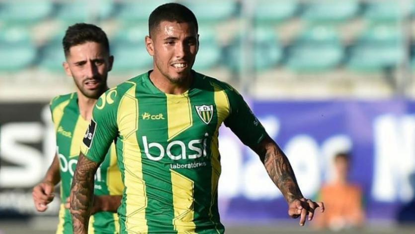 Sergio Peña es convocado por Tondela para enfrentar al Porto