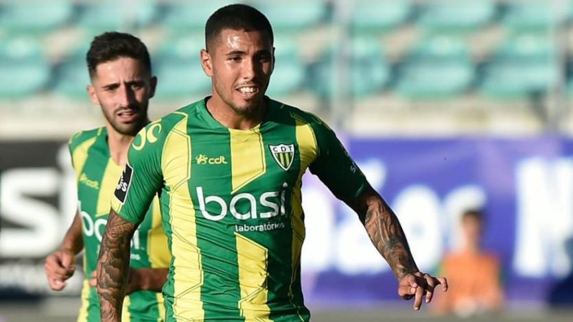 Sergio Peña estuvo presente en la derrota del Tondela