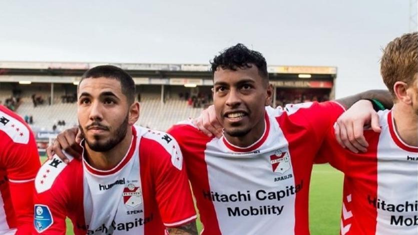 Sergio Peña y Miguel Araujo se lucen en once ideal de la fecha en Holanda