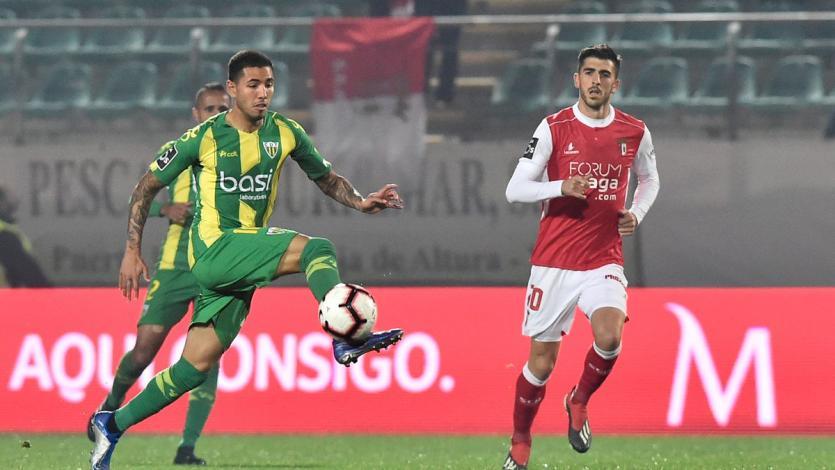 Sergio Peña fue titular en el empate de Tondela ante el Belenenses