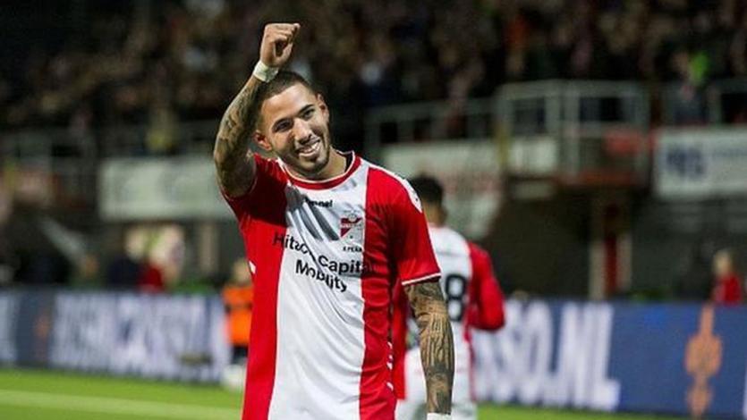 Sergio Peña fue incluido en el once ideal de la fecha en la Eredivisie