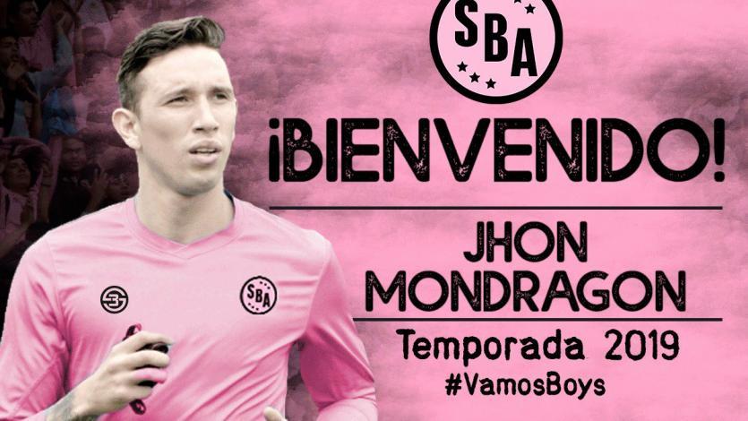 Sport Boys fichó al colombiano Jhon Mondragón