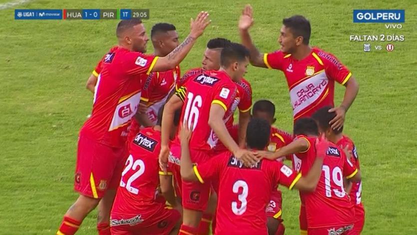 Sport Huancayo venció 1-0 a Pirata FC por la fecha 9 de la Liga1 Movistar