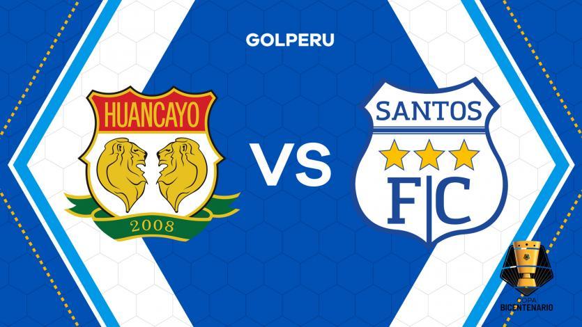 Sport Huancayo vs Santos FC: hora, estadio y posibles alineaciones por Copa Bicentenario