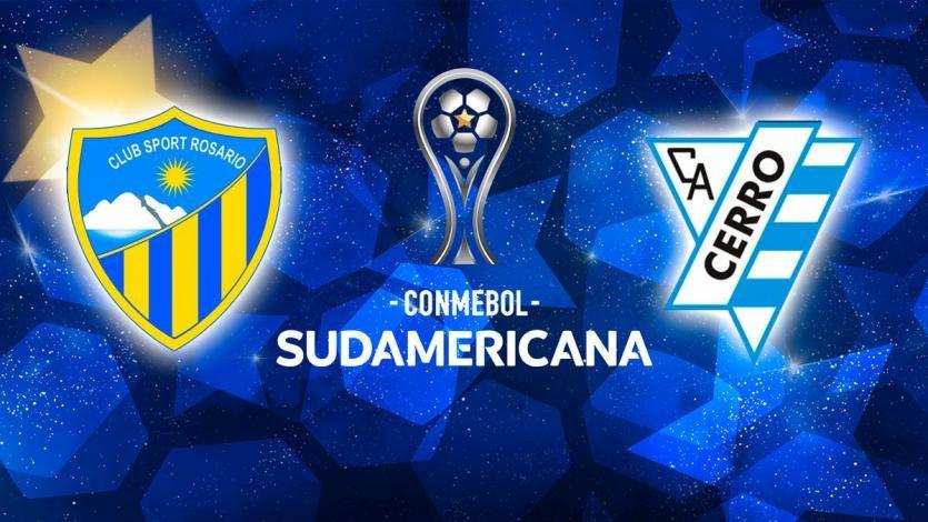 Copa Sudamericana: Sport Rosario hace su histórico estreno frente a Cerro (U)