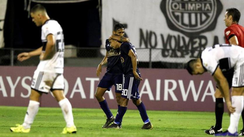 Copa Libertadores: Sporting Cristal venció 1-0 a Olimpia y clasificó a la Copa Sudamericana