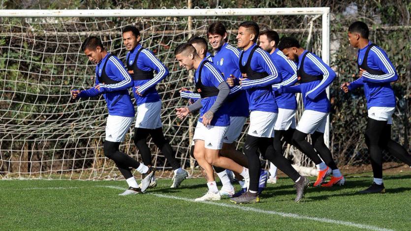 Sporting Cristal se entrenó en el predio de la Universidad Católica