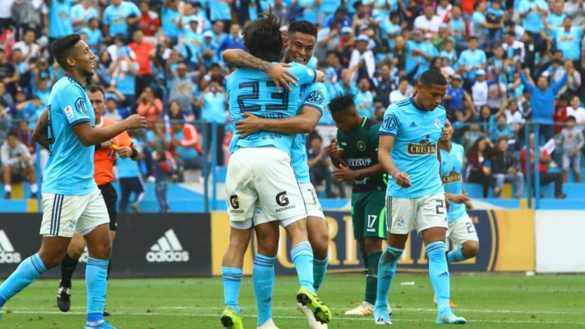 Sporting Cristal goleó a Pirata FC con un doblete de Christopher Olivares (VIDEO)