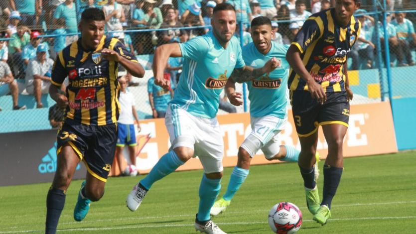 Sporting Cristal goleó 4-1 a Sport Rosario
