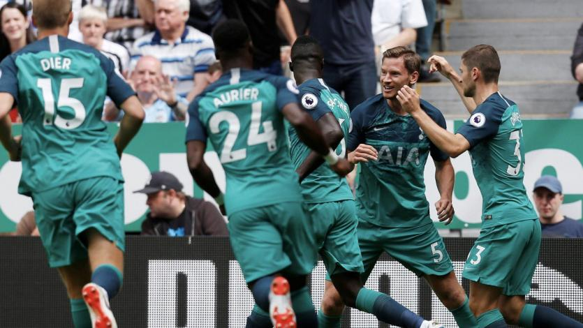 Premier League: Tottenham venció 2-1 a Newcastle
