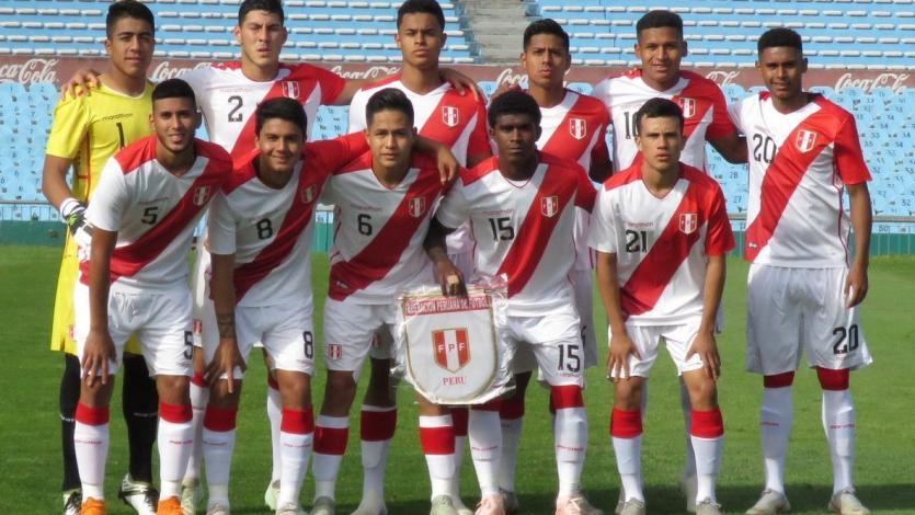 Sub 20: Perú y Uruguay igualaron en el primer amistoso