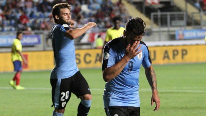 Sudamericano Sub-20: Uruguay frenó a Ecuador y toma los primeros lugares