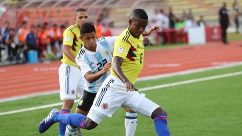 Sudamericano Sub-17: Argentina logró su primera victoria superando a Colombia