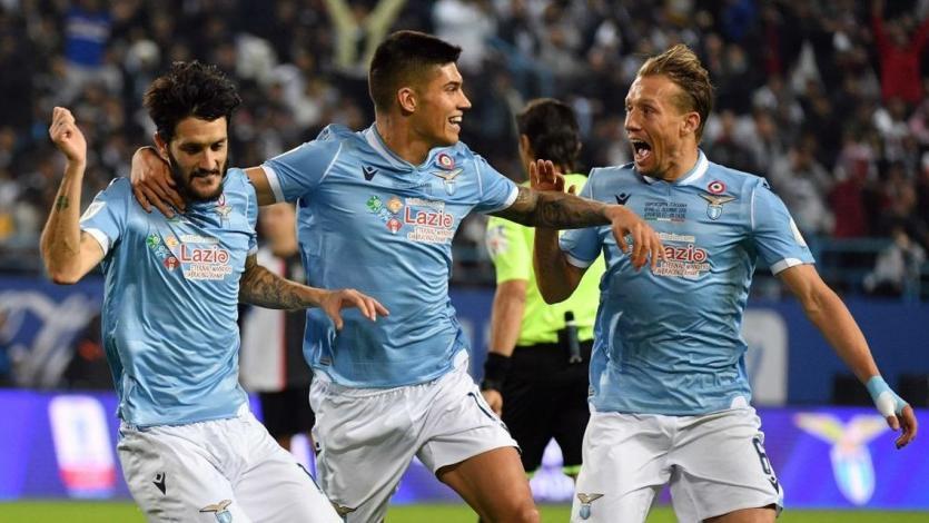 Supercopa de Italia: Lazio frena a la Juventus y se queda con el título (VIDEO)