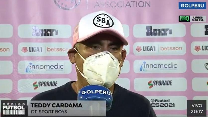 """Teddy Cardama: """"Le pedí al administrador que si quiere que continuemos con el proyecto que sea partido a partido"""" (VIDEO)"""