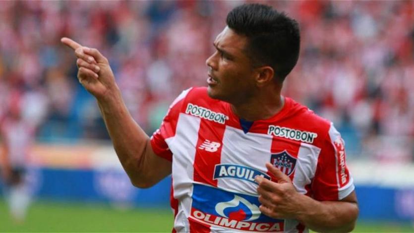 Teo Gutiérrez es baja en Junior para visitar a Alianza Lima
