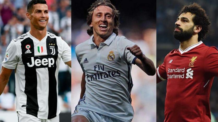 Cristiano Ronaldo, Modric y Salah son los finalistas al premio The Best
