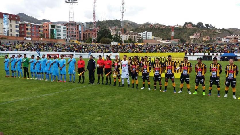 Deportivo Binacional derrotó por 1-0 a The Strongest, en la presentación del equipo boliviano
