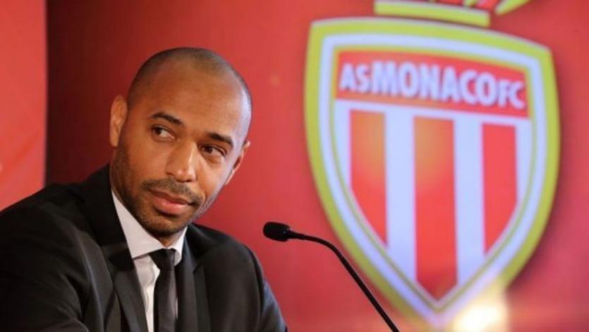 Thierry Henry fue presentado como nuevo entrenador del Mónaco