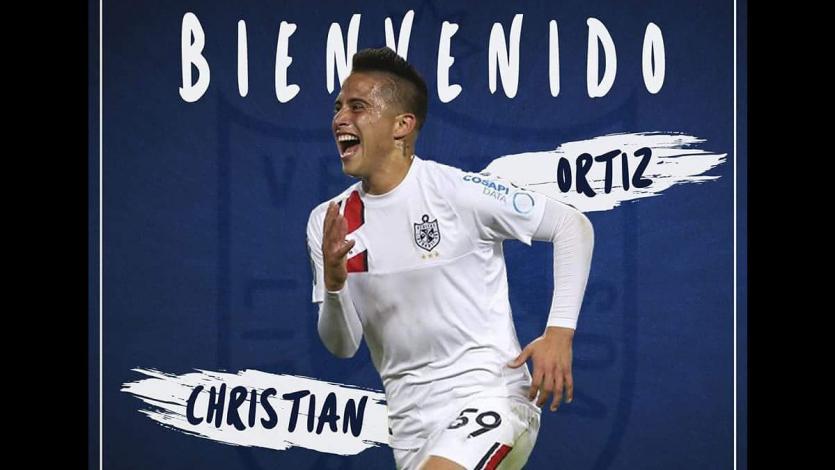 Christian Ortiz es nuevo jugador de la Universidad de San Martín