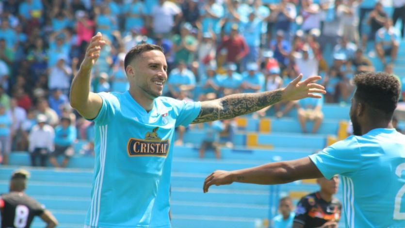 Sporting Cristal: Emanuel Herrera cortó una racha de 5 partidos seguidos anotando